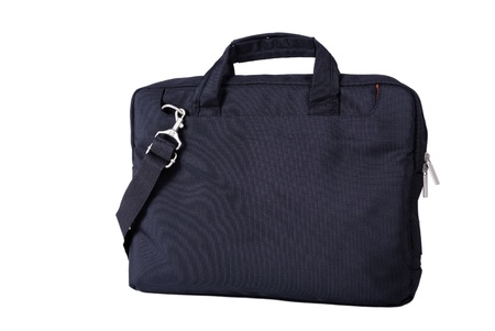 Computer bag isolated on a white background photo