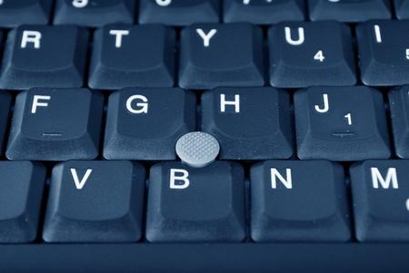Laptop computer tray closeup health photo
