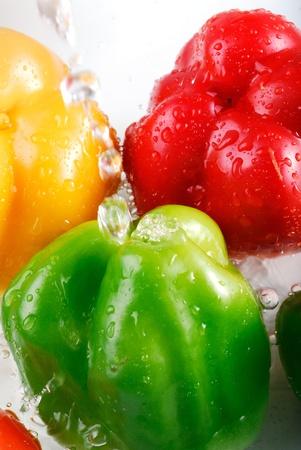tertiary: Vegetable series  color hot tertiary close-up