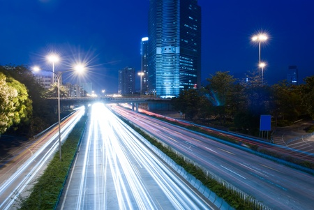 Heavy traffic through the city now Stock Photo - 11392621