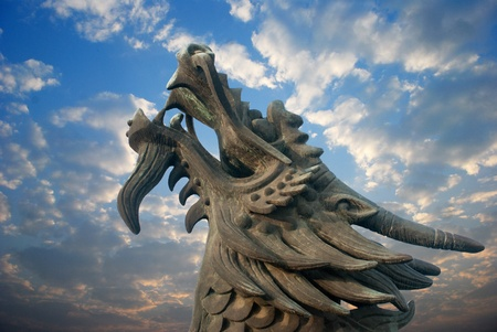 Orient one of the symbols of Chinese Dragon Culture photo