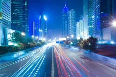 Shenzhen, China at night photo