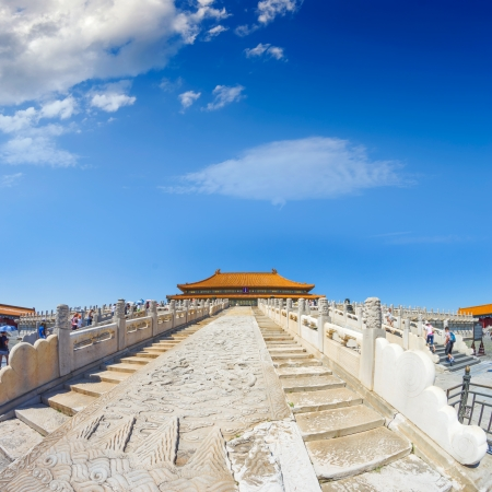 The Forbidden City in beijing Stock Photo - 14720398
