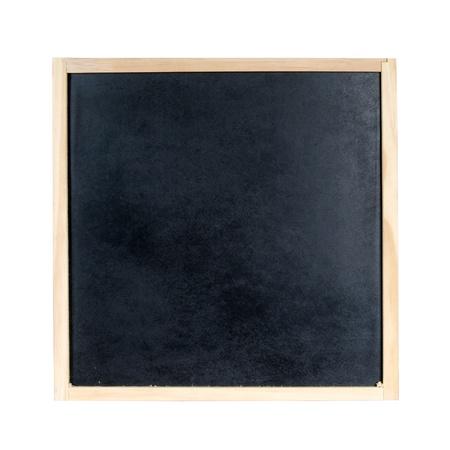 Blackboard isolated on a white background photo
