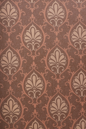 weaved: The nostalgic style fancy texture in wallpaper Stock Photo