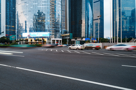 turnpike: The road in the city of shenzhen,china