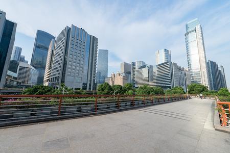 ifc: Modern architecture,Guangzhou China Stock Photo