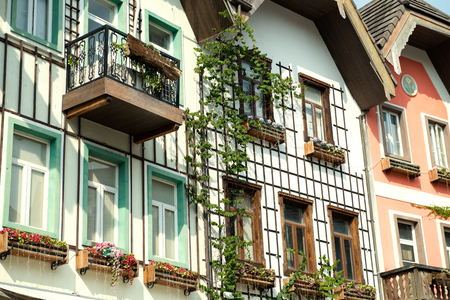 The traditional window of Austria