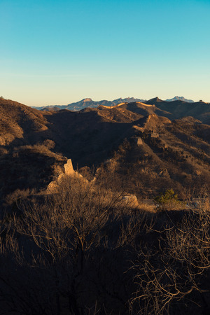 The Great Wall of hebei,china