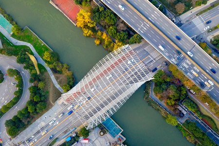 Modern cities and Bridges in China