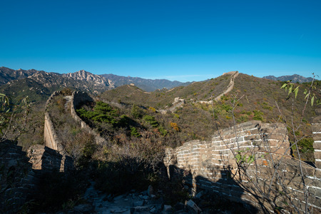 landscape of the great wall in beijing,China Stock fotó