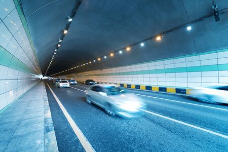 Cars in the tunnel