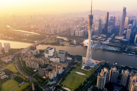 Canton Tower at guangzhou,china