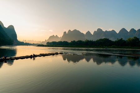 natural landscape in guilin, China Stock fotó - 134838032