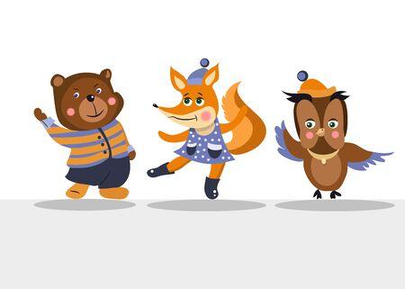 Animals. Vector graphics Stock illustration