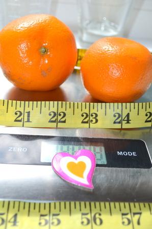 mandarin: Two mandarin
