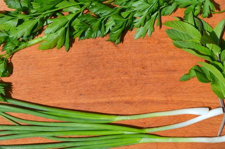 cebollin: Cebollino menta perejil
