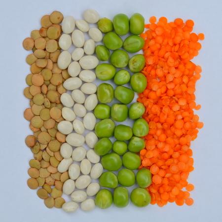 lentejas: Lentejas, guisantes y frijoles