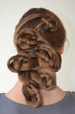 lang haar: Hairstyle with long hair