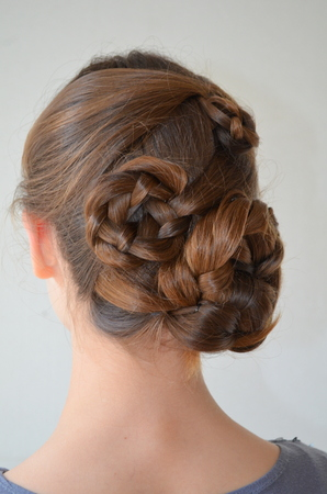 originative: Hairstyle with long hair