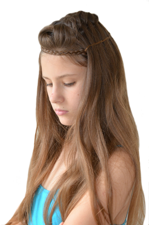 light hair: Hairstyle for long hair