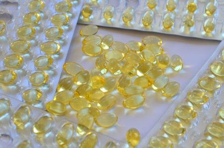 omega: Fish oil capsules. Omega