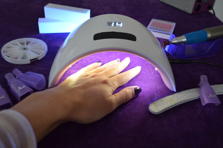 Lamp UV for nails with timer