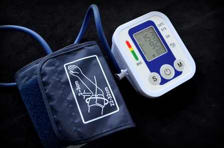 cuff: The device for blood pressure measurement - automatic tonometer