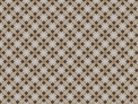 linoleum light brown on the floor repeating the volume pattern of the lattice