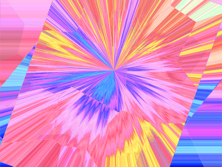 Abstract background with radiant rays 写真素材