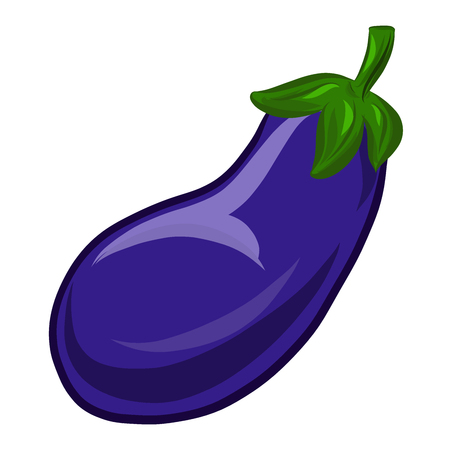 Violet eggplant, vegetables and health