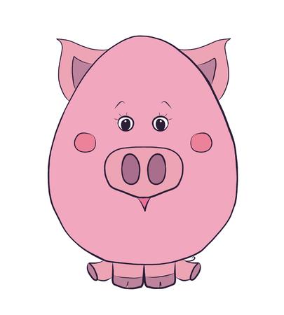 Funny piggy Stok Fotoğraf