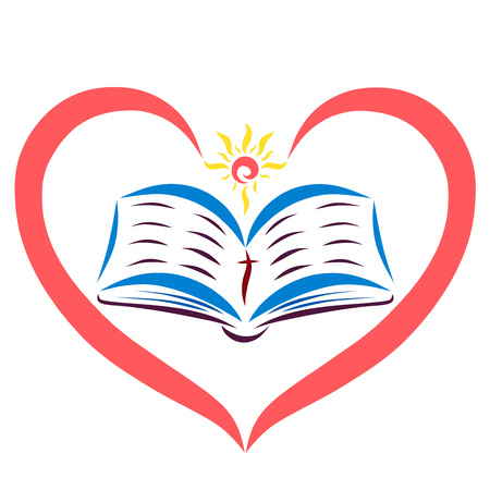 Heart and sun, open scriptures, truth from God