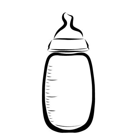 Baby bottle for feeding, infancy