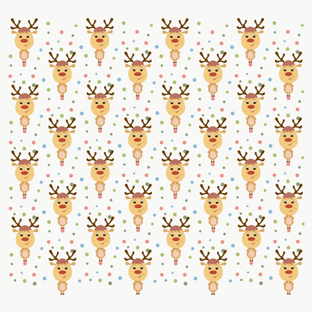 festive background with deer