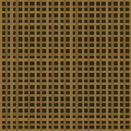 Dark checkered background from woven coarse cloth Banco de Imagens