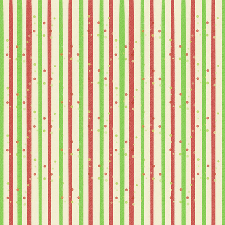 Striped festive bright background in green and red line
