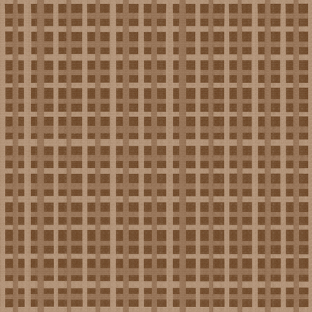 Background with beige-brown checkered pattern Banco de Imagens