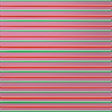Pink background with green and red bulging lines Banco de Imagens