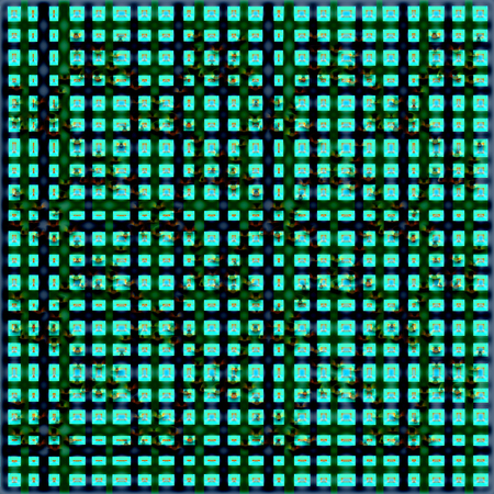 Background with abstract black-and-green pattern Banco de Imagens