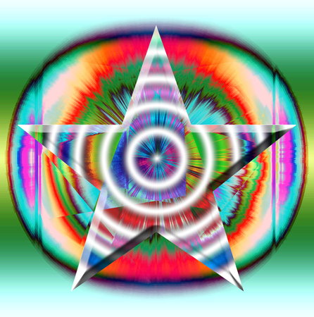Shining star, background