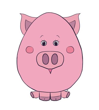 Funny piggy 版權商用圖片