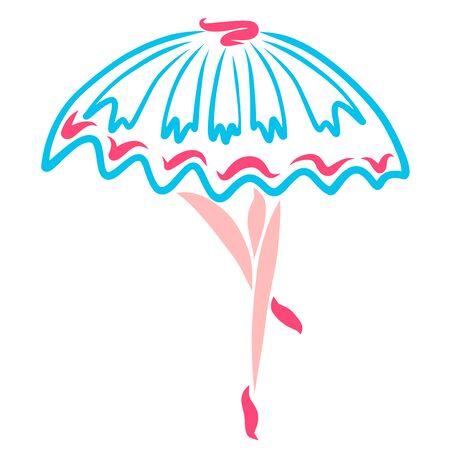 a dancing ballerina, legs and a full skirt