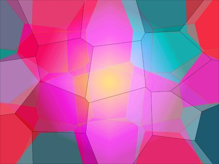 colorful abstract background with translucency and polygons Zdjęcie Seryjne