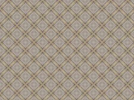 tablecloth with dense small weaving openwork pattern in gray Stock Photo