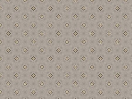 cover with dense geometric weaving openwork pattern in gray and brown Stock Photo
