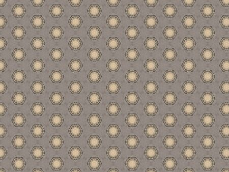 voluminous wedding tablecloth with geometric weaving openwork pattern in gray and white