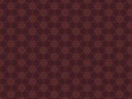 krakodil scaly leather burgundy and red with geometric patterns and green figures