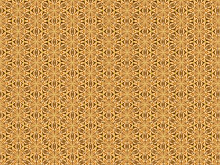 background with an openwork pattern of mandarin slices orange and green