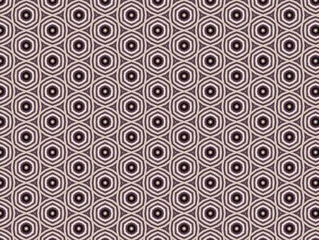 knitted fabric from the wool of a Siberian dog husky with geometric weaving purple, black and white Stock Photo